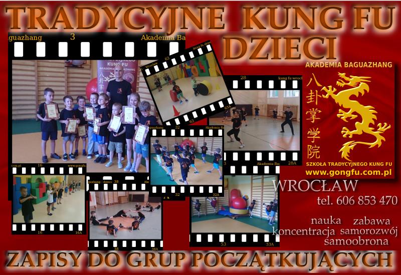 Kung Fu Wrocław - dzieci