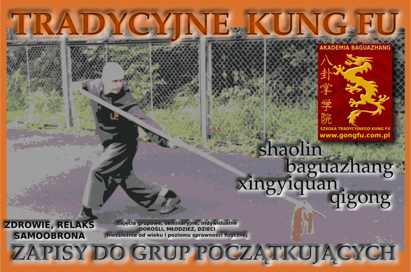 Kung Fu, Qigong Wrocław - dorośli