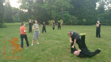 Wakacyjne plenerowe Kung Fu